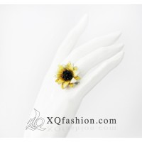 Nhẫn Thêu Hoa Hướng Dương