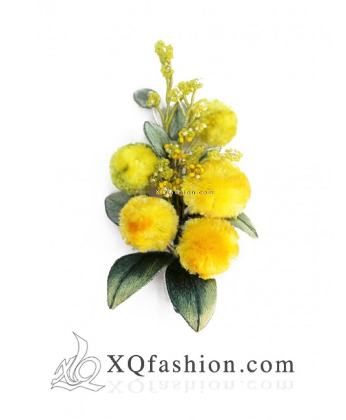 Cài Áo Hoa Mimosa
