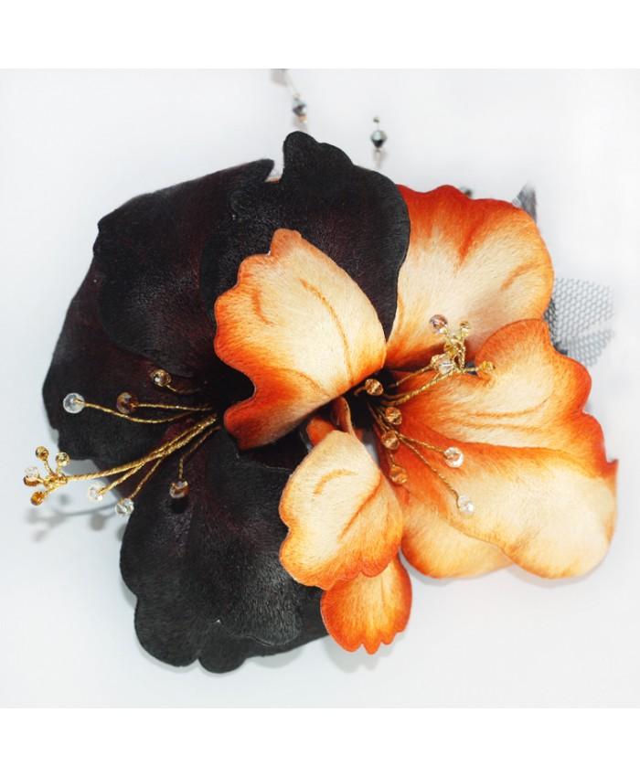 Cài áo – Kẹp tóc hoa Mộc Cận