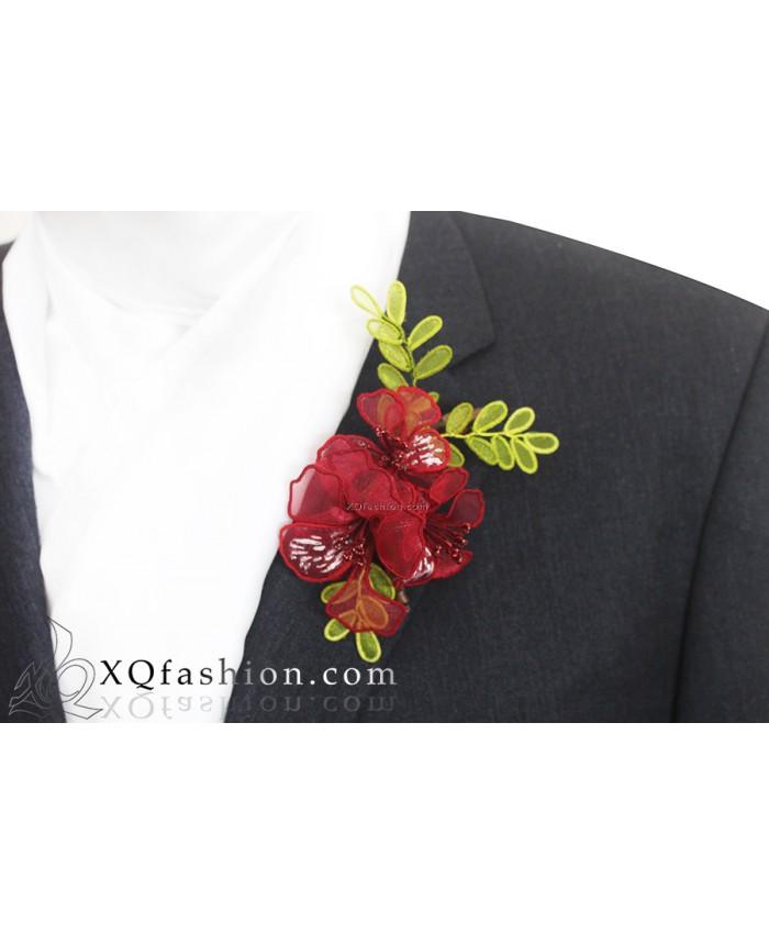Cài áo hoa Phượng Vĩ