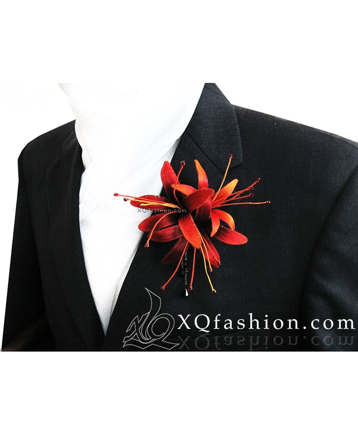 Cài áo – Kẹp tóc Bỉ Ngạn hoa