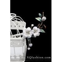 Trâm hoa Đào màu bạc