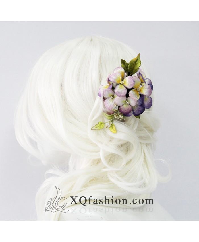Kẹp tóc hoa Cẩm Tú Cầu