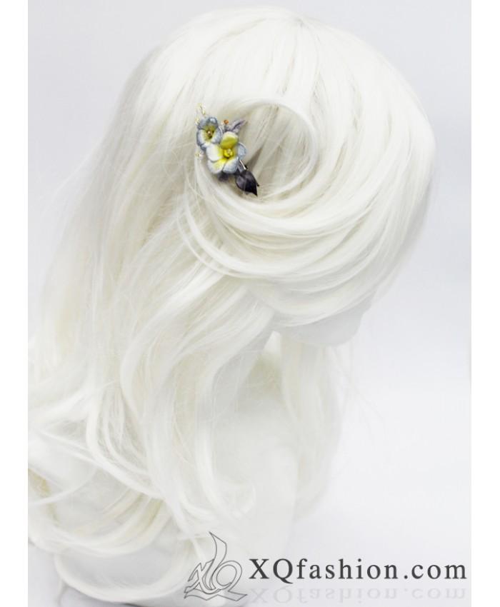 Kẹp tóc hoa Mai nhỏ